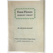 FOREST FLOWERS. An early poem recovered.
