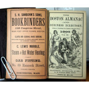 THE BOSTON ALMANAC AND BUSINESS DIRECTORY, Vol. 58, 1893.