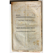 REPORT AND BILL ON THE PETITION OF THE SEEKONK BRANCH RAIL-ROAD COMPANY. dOC. 98.