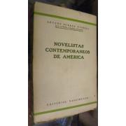 NOVELISTAS CONTEMPORANEOS DE AMERICA.