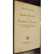 RESENA HISTORIA DEL PERIODISMO MEXICANO. Edicion conmemorativa del tricentenario del nacimineto de nuetro primer periodista. (Juan Ignacio Maria de Castorena).