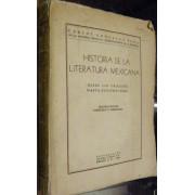 HISTORIA DE LA LITERATURA MEXICANA. DESDE LOS ORIGENES HASTA NUESTROS DIAS.