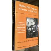MATTHEW HALE CARPENTER. WEBSTER OF THE WEST.