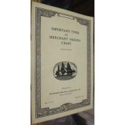 IMPORTANT TYPES OF MERCHANT SAILING CRAFT
