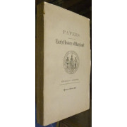 PAPERS RELATING TO THE EARLY HISTORY OF MARYLAND.  Fund Publication No. 9