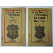 LONE SCOUTS OF AMERICA FIRST DEGREE and LONE SCOUTS OF AMERICA SECOND DEGREE