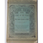 PLAYGOERS' YEAR-BOOK, 1888. STORY OF THE STAGE THE PAST YEAR,...