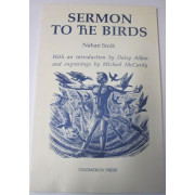 SERMON TO THE BIRDS. With an introduction by Daisy Aldan and engravings by Michael McCurdy.
