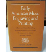 EARLY AMERICAN MUSIC ENGRAVING  AND PRINTING.