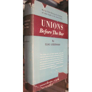 UNIONS BEFORE THE BAR