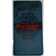 THE POCKET SERIES OF TOURING MAPS. PLAN OF CHELTENHAM WITH ENVIRONS.