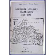 LOUDOUN COUNTY MARRIAGES 1760-1850