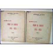 DIX ANNEES DE LUTTE. POUR LA LIBERTE, 1915-1925.
