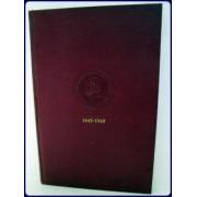 TERCENTENARY HISTORY OF THE ROXBURY LATIN SCHOOL 1645-1945.