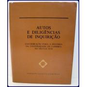AUTOS E DILIGERNCIAS DE INQUIRICAO. Contribuicao para a...