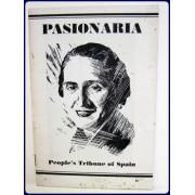 PASIONARIA. PEOPLE'S TRIBUNE OF SPAIN.