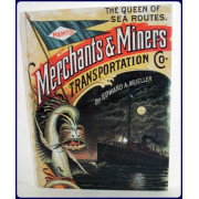 QUEEN OF SEA ROUTES. THE MERCHANTS AND MINERS TRANSPORTATION COMPANY.