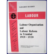 LABOUR ORGANISATION AND LABOUR REFORM IN TRINIDAD, 1919-1939.