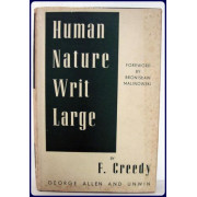 HUMAN NATURE WRIT LARGE : A SOCIAL PSYCHOLOGIC SURVEY AND WESTERN ANTHROPOLOGY