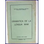 GRAMATICA DE LA LENGUA MAM.