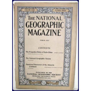 THE NATIONAL GEOGRAPHIC MAGAZINE Vol.  XXIII. No. 3.  March, 1912