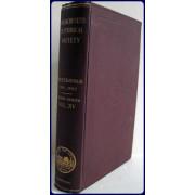 PROCEEDINGS, Second Series, Vol. 15, 1901, 1902.