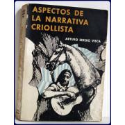 ASPECTOS DE LA NARRATIVE CRIOLLISTA.