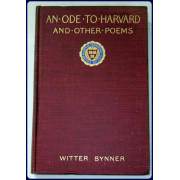 AN ODE TO HARVARD AND OTHER POEMS.