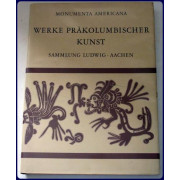 WERKE PRAKOLUMBISCHER KUNST. MESOAMERIKA UND PERU. Beschreibender Katalog von....