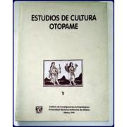 ESTUDIOS DE CULTURA OTOPAME,  #1.