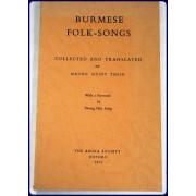 BURMESE FOLK-SONGS.