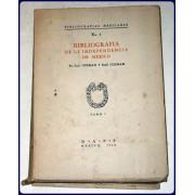 BIBLIOGRAFIA DE LA INDEPENDENCIA DE MEXICO.