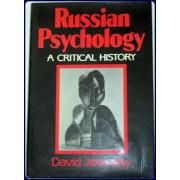 RUSSIAN PSYCHOLOGY. A CRITICAL HISTORY.