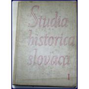 STUDIA HISTORICA SLOVACA I.