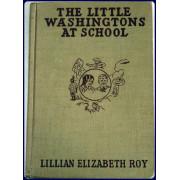 THE LITTLE WASHINGTONS AT SCHOOL.