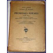 PREMIERES POESIES 1828-1833. Oeuvres Completes de