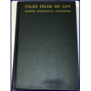 PAGES FROM MY LIFE. AN AUTOBIOGRAPHY.