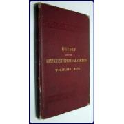 A BRIEF HISTORY OF THE METHODIST EPISCOPAL CHURCH IN WELLFLEET, MASSACHUSETTS.