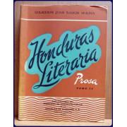 HONDURAS LITERARIA COLECCION DE ESCRITOS EN PROSA Y VERSO; NO. 9 TOMO IV