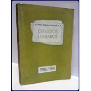 ESTUDIOS LITERARIOS, CAPITULOS DE LITERATURA CENTROAMERICANA