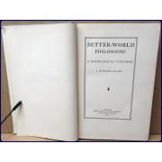 BETTER-WORLD PHILOSOPHY