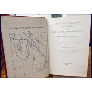 AN ENGLISH-VERNACULAR DICTIONARY OF THE BANTU-BOTATWE DIALECTS OF NORTHERN RHODESIA.
